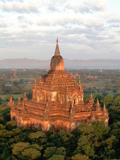 The ancient temples of Bagan, Myanmar