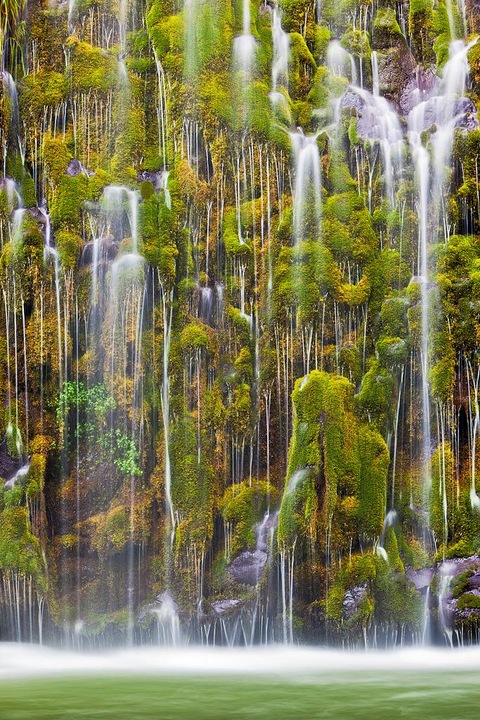 Mossbrae Falls, California