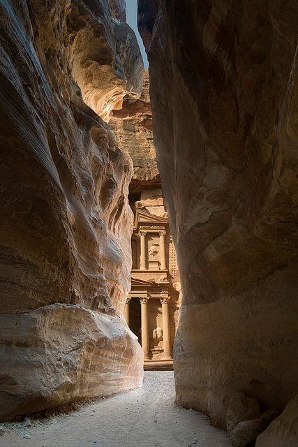 The hidden gem, Petra / Jordan