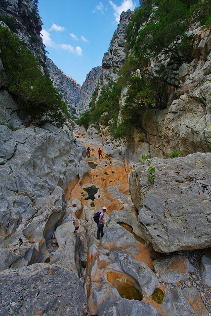 Torrent de Pareis Canyon, Mallorca Island / Spain
