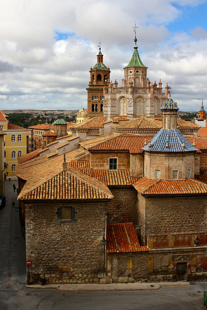 Rooftop view in Teruel, Aragon / Spain