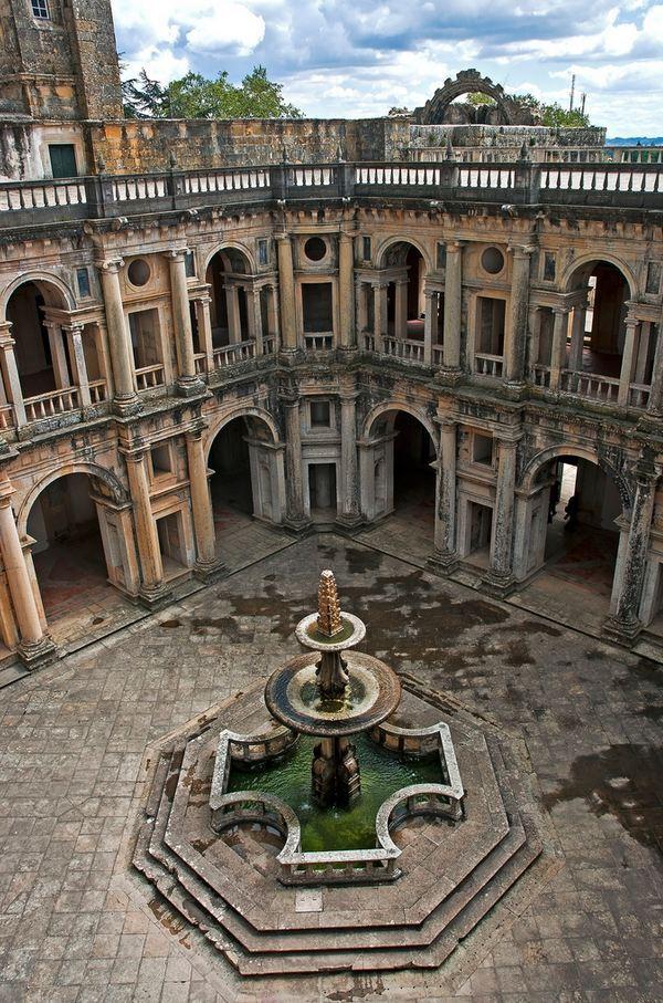 """""""Convento de Cristo, Tomar / Portugal ."""""""